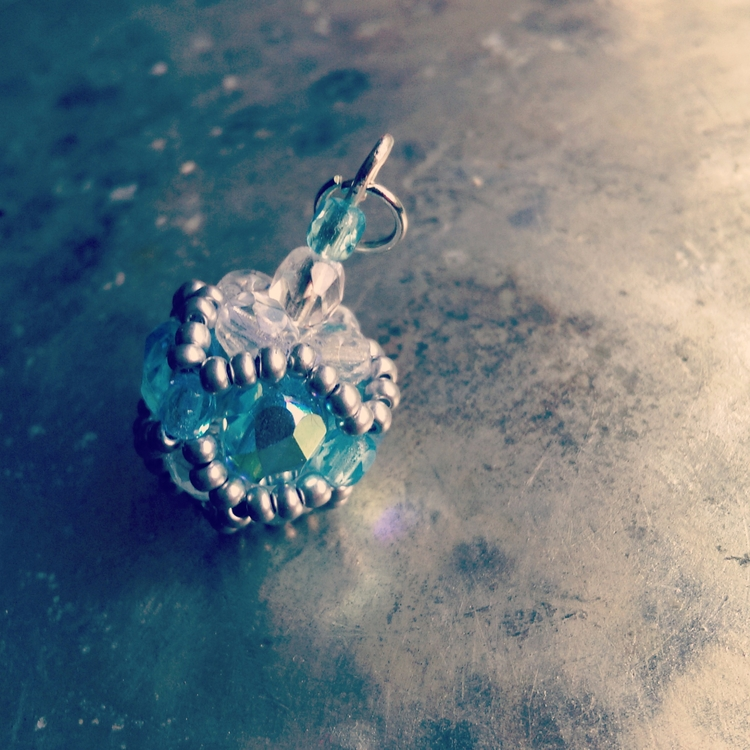 small coloured - Handcrafted, aqua - haleh_creates | ello