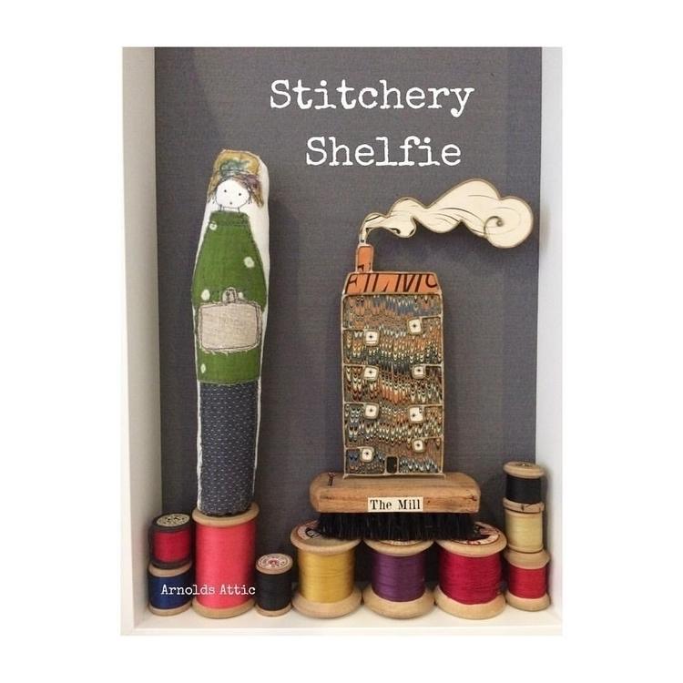 Stitchery Shelfie. Mill bought  - arnolds-attic | ello