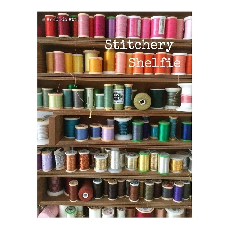 Stitchery Shelfie. :scissors:️  - arnolds-attic | ello