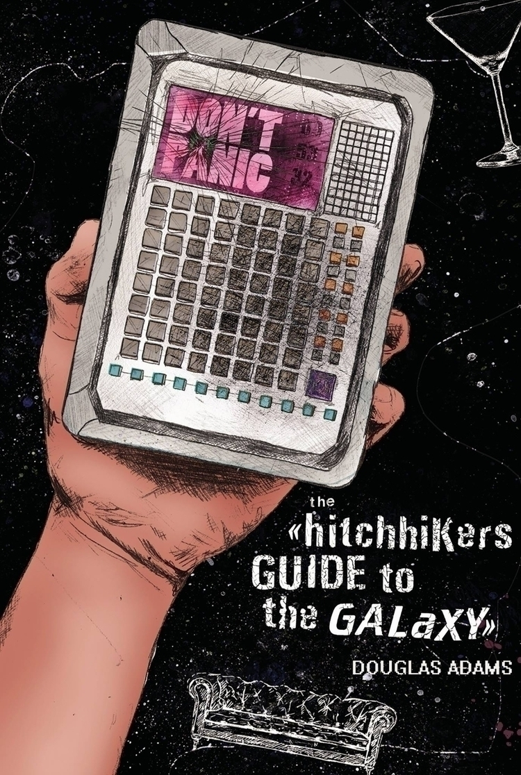 Guide Galaxy' Book Cover Redesi - anastasiawigg | ello