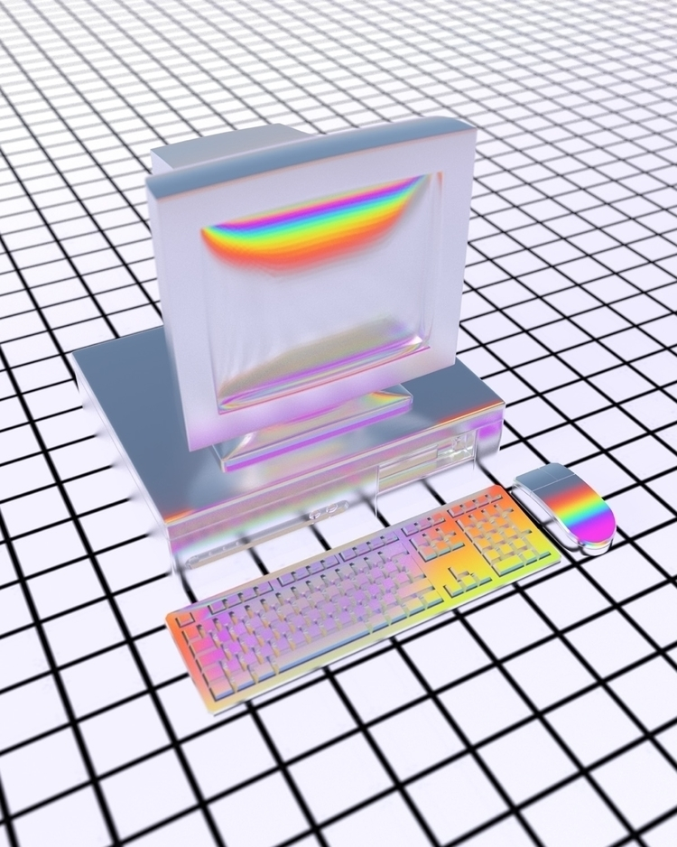 computer tron 5000 - digitalart - nickjaykdesign | ello
