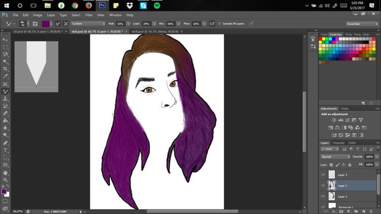 Portrait - itsdenna | ello