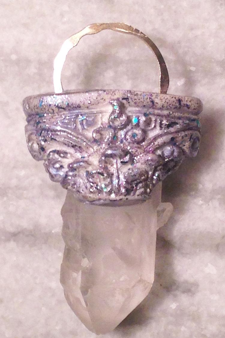 Sparkling Corbel Quartz Crystal - incarnations | ello