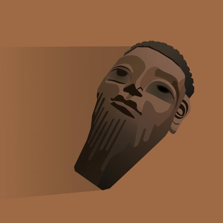028 - tribal mask - c5eu2 | ello