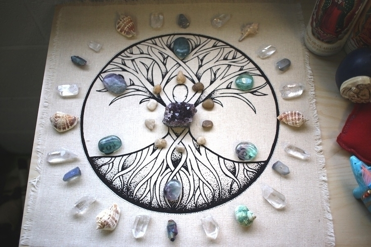 Honor Mother Earth  - treeoflife - the7directions | ello