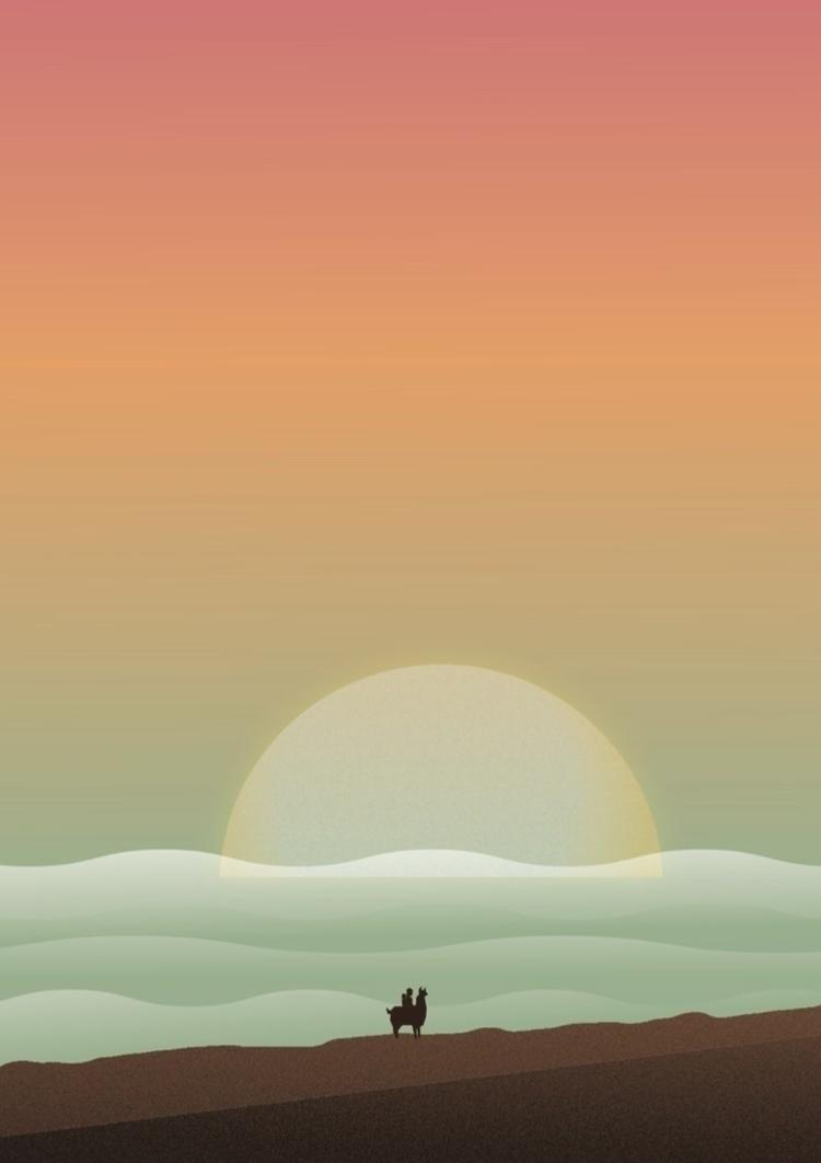 beach - Illustration Journey Se - javiemundo | ello