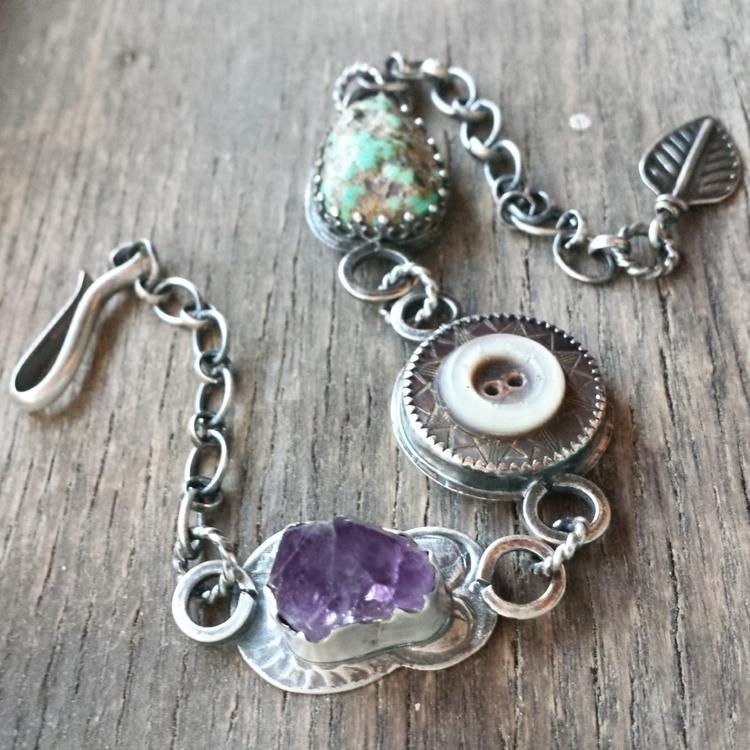mixed elements bracelet. natura - alleyec   ello