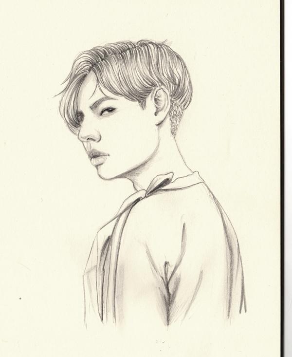 Feeling unpretty - doodle, sketch - j0eyg1rl | ello