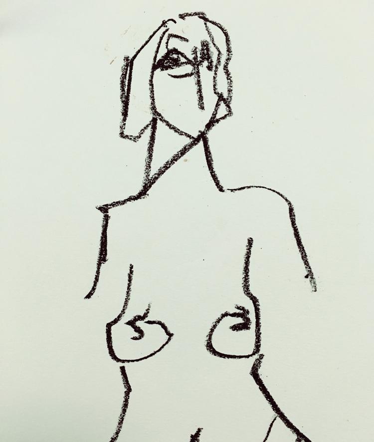 Untitled Nude - art, nude, woman - jkalamarz   ello