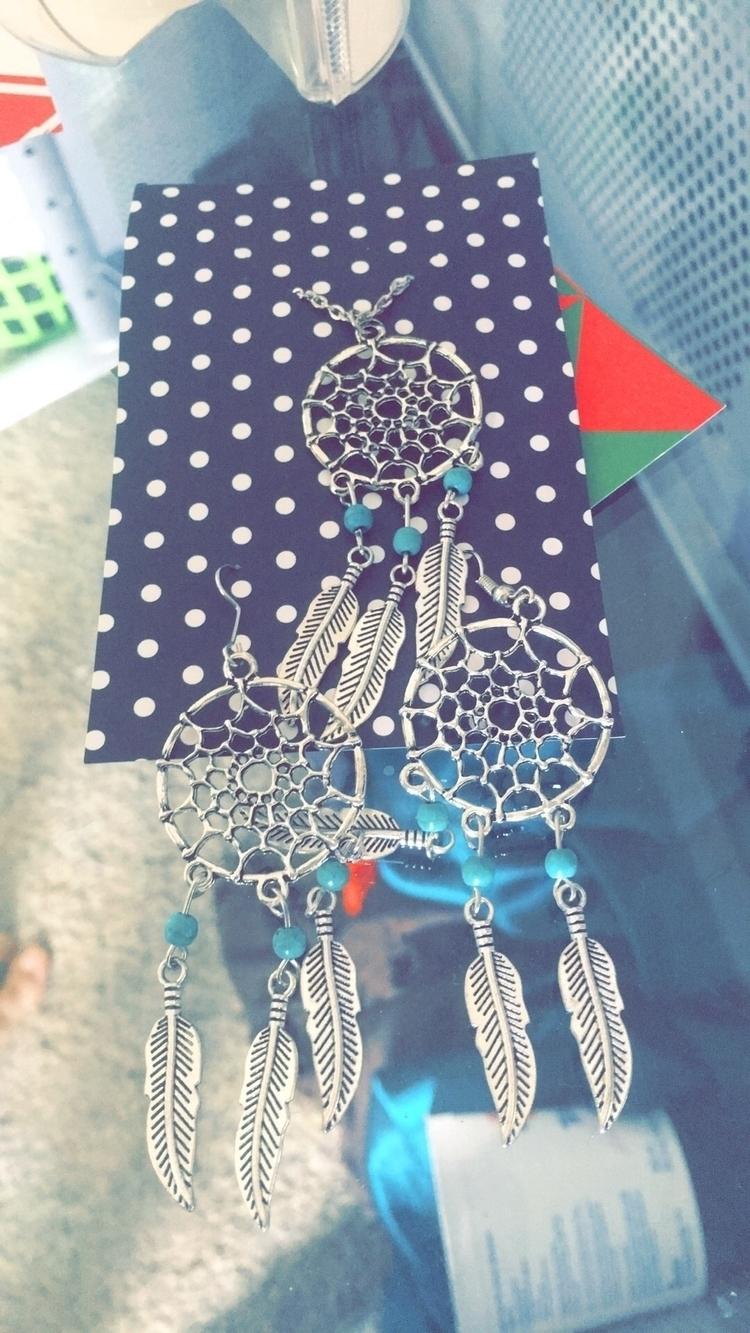 dream catcher turquoise set pur - bodycandybycarlie | ello