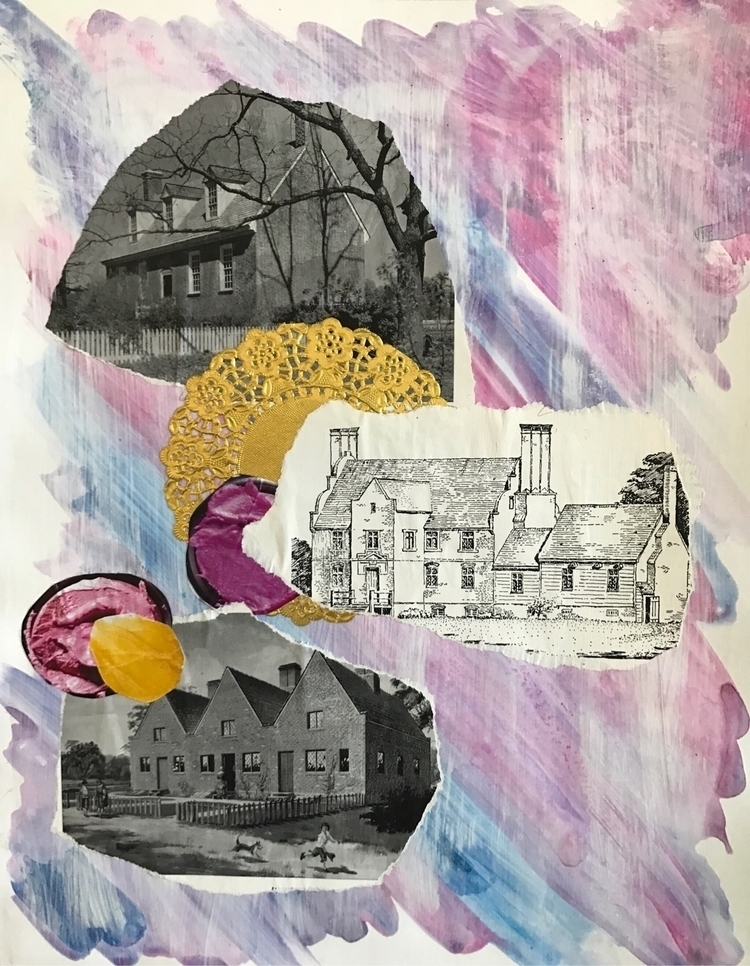 Select mixed media collages $5  - lisabritton | ello