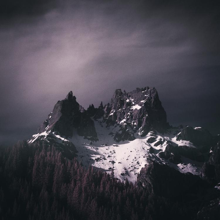 > Sella Pass, Dolomites - infrared - andyleeuk | ello