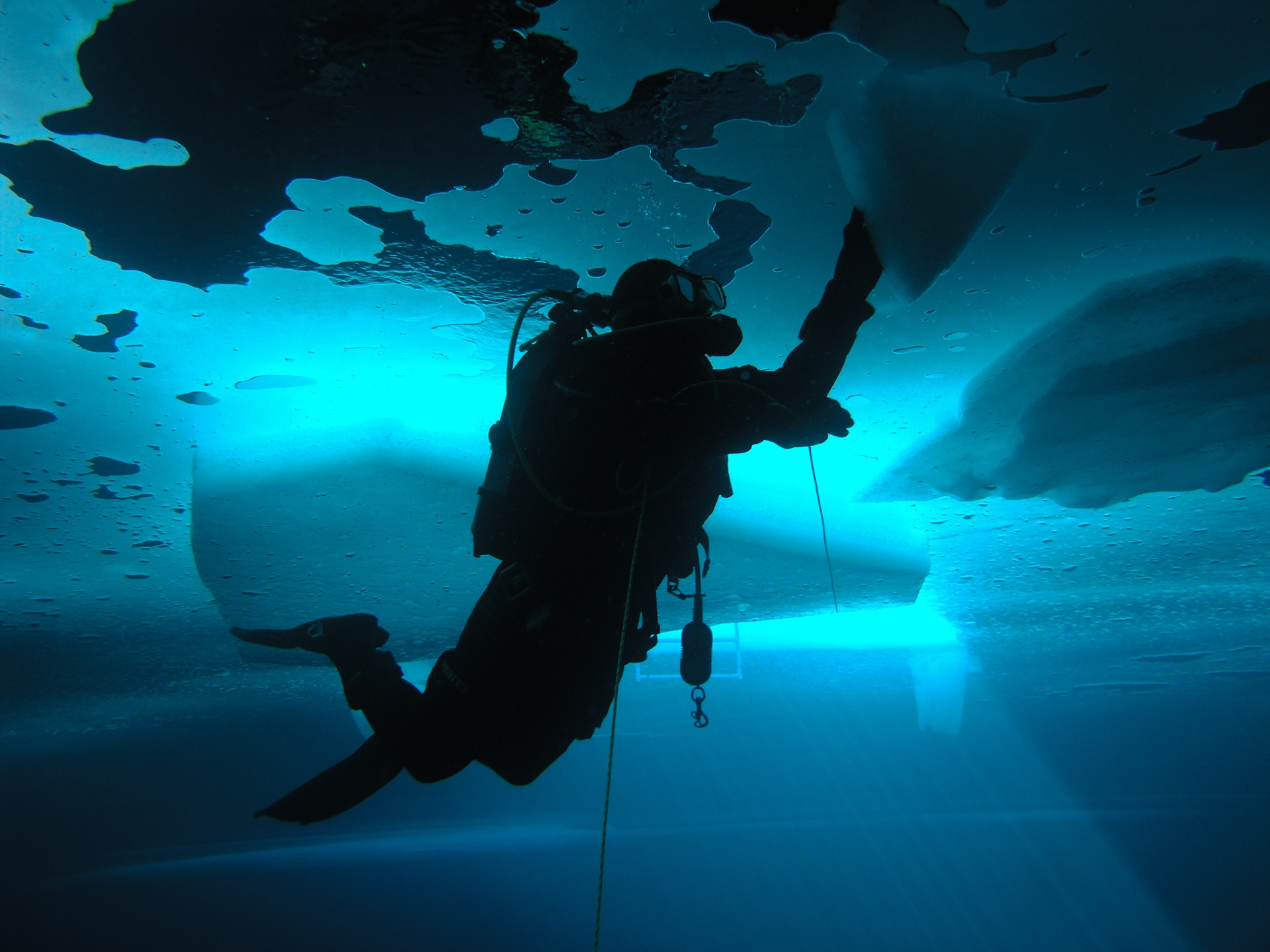 innerspace - ice diving - marcsinbox | ello