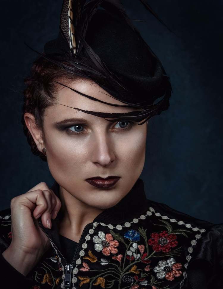 Photographer:Andrea Cavallaro  - darkbeautymag | ello