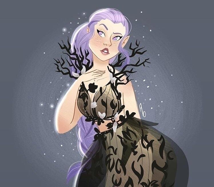 fae based designs Firefly dress - mustashleigh | ello