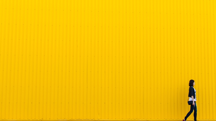 Yellow wall - photography, yellow - frostroomhead | ello