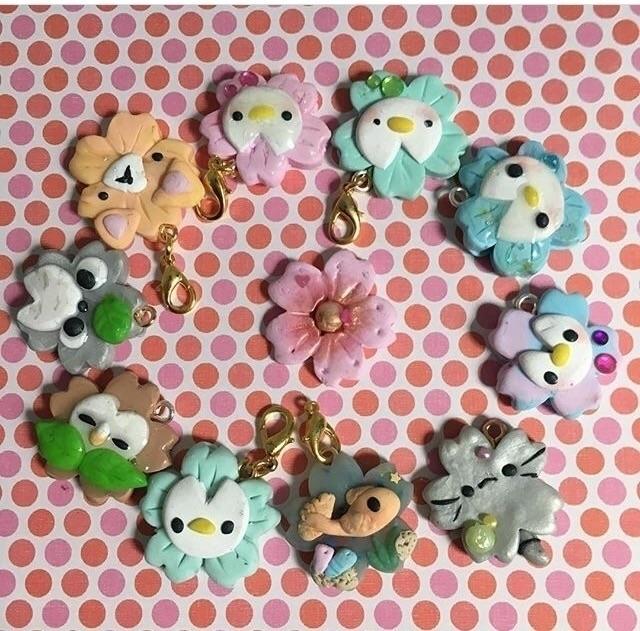 kawaii, Sakura, polymerclay, crafts - jainilla   ello