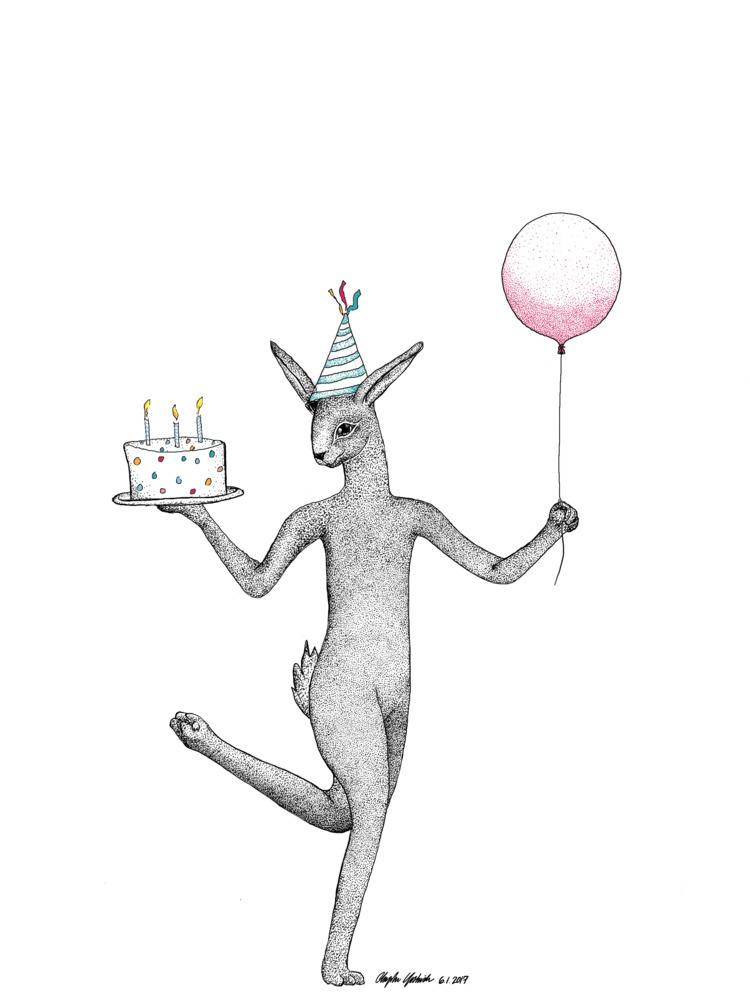 birthday Dad - bunny - cheedoh | ello
