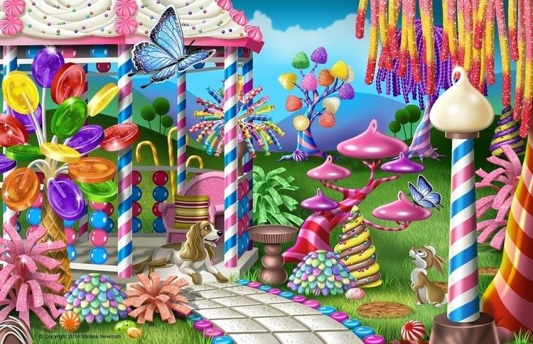 Candy Garden Gazebo sweet tooth - malanenewman | ello