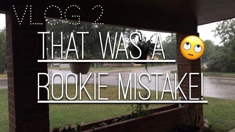 ROOKIE MISTAKE! / VLOG 2 hope e - selenaramirez | ello