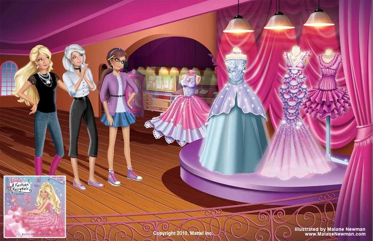 Hired colorist (Mattel) Barbie  - malanenewman | ello