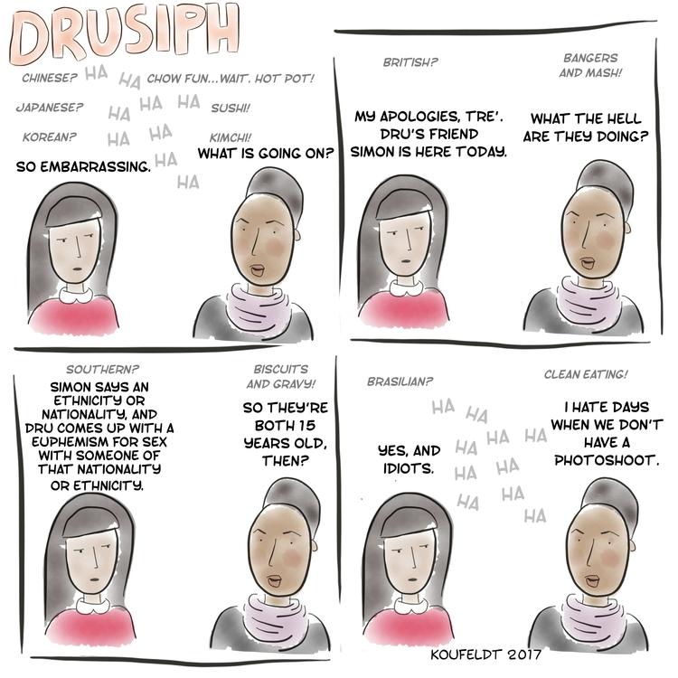 friday, drusiph, comic, comicstrip - drusiph | ello