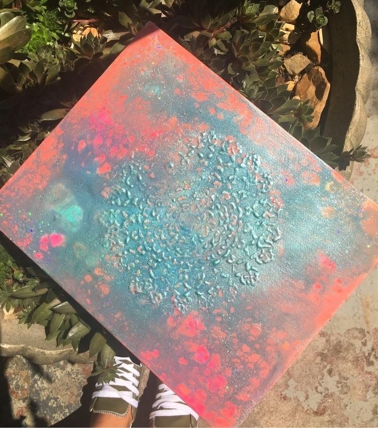 Hidden Depth 2D textured mandal - thatgirlstayce | ello