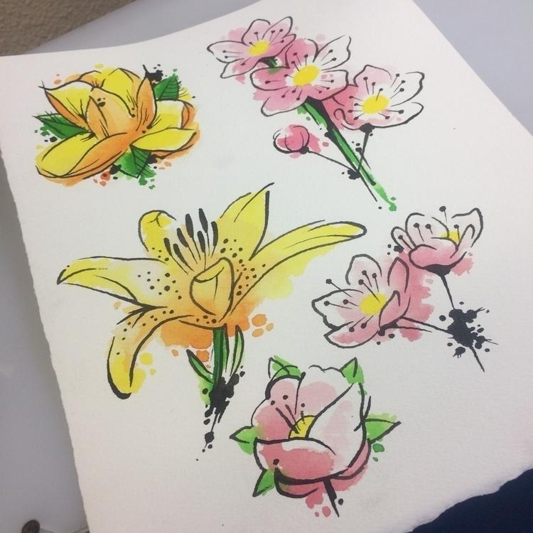 Special sheet - watercolortattoo - levigreenacres   ello
