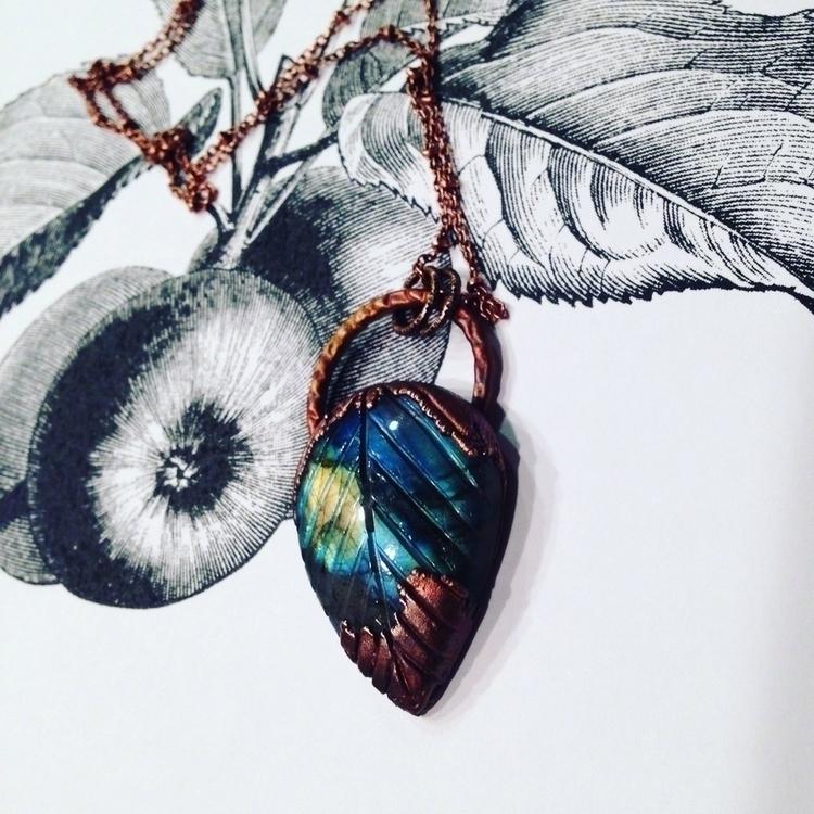 Copper labradorite, favorite - elloelectroforming - mergingmetals | ello
