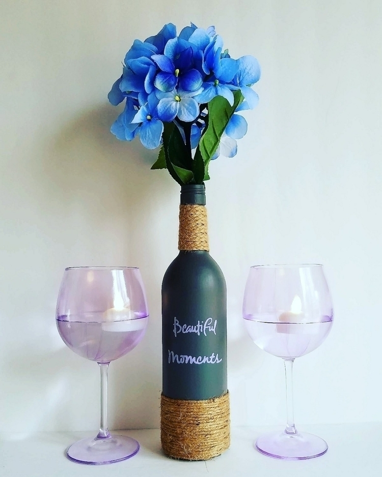 Beautiful moments recycled wine - thisuniquehome | ello