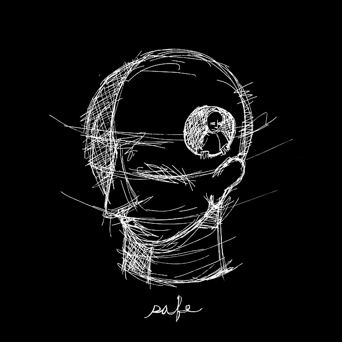 safe - head, messy, scribbles, holeinhead - catswilleatyou | ello