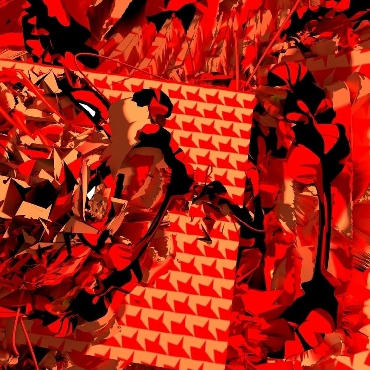 FROZEN - 3d, art, ello, experiment - liamiamliam | ello