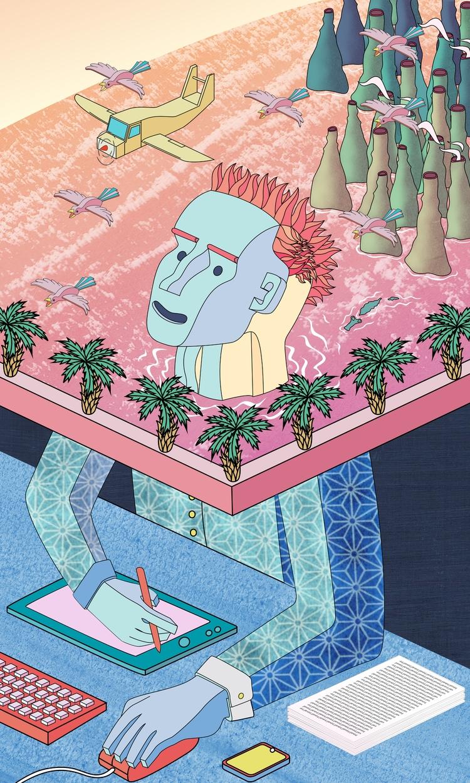 Illustration, Graphic, Dream - tomrouleau | ello