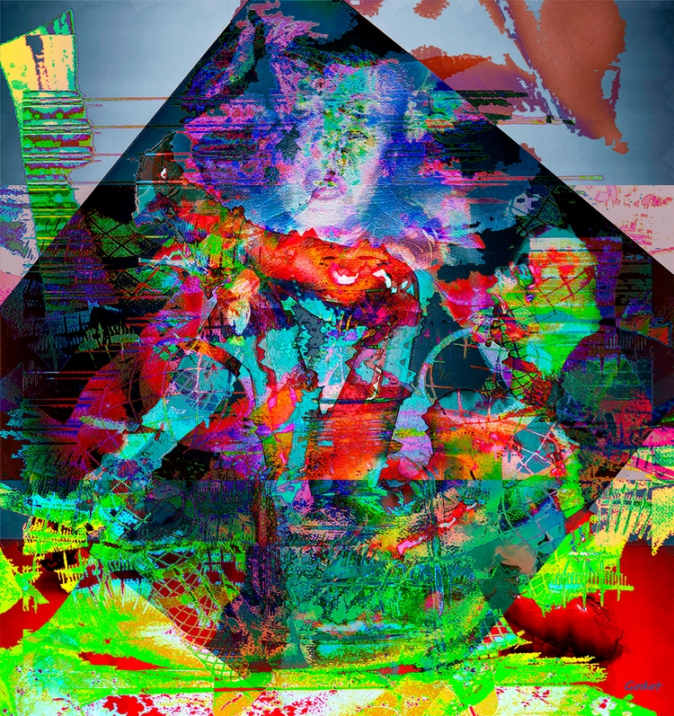 Artist: Gode Wilke Title: Lust  - art-godot | ello