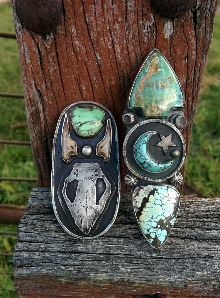 wombat skull ring + Nomad - nomadjewellery - charleysforestsilver   ello