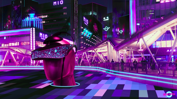 city real. Virtual scapes. high - cybercitypunk   ello