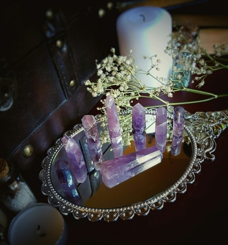 Amethyst dreams - crystals, amethyst - archane_creations | ello
