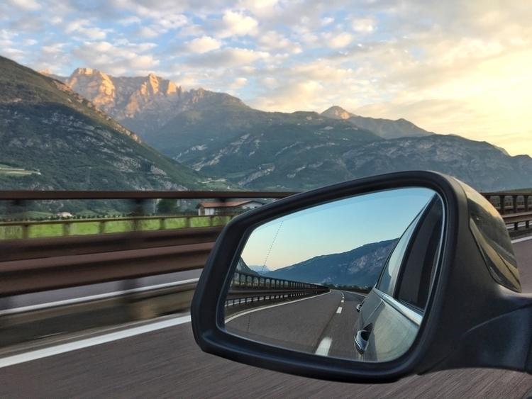 Buongiorno. En route Brennero - AutostradaA1 - rowiro   ello