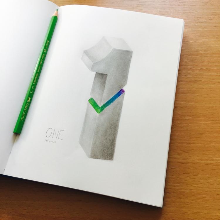 Pencil paper, 16 21.5 cm piece  - kenazmedia | ello