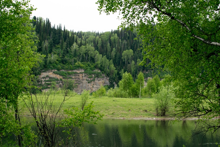 beautiful heart - nature, Siberia - maksim605 | ello