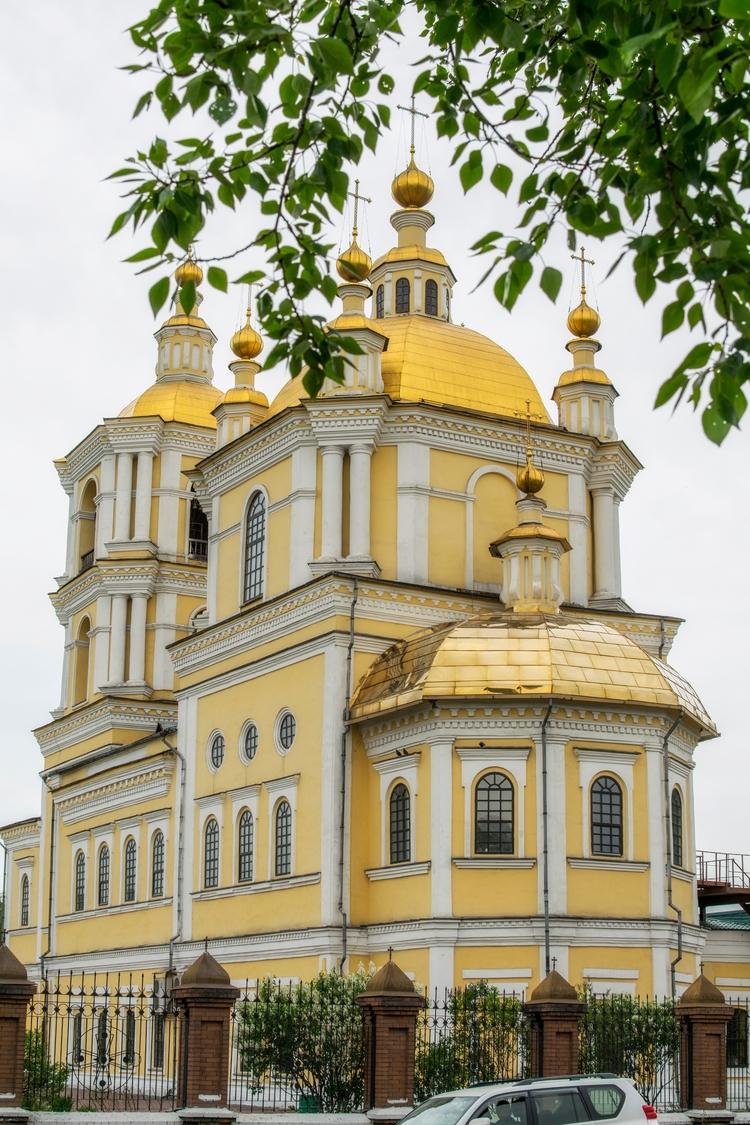 Orthodox Cathedral, 1792 year - Siberia. - maksim605 | ello