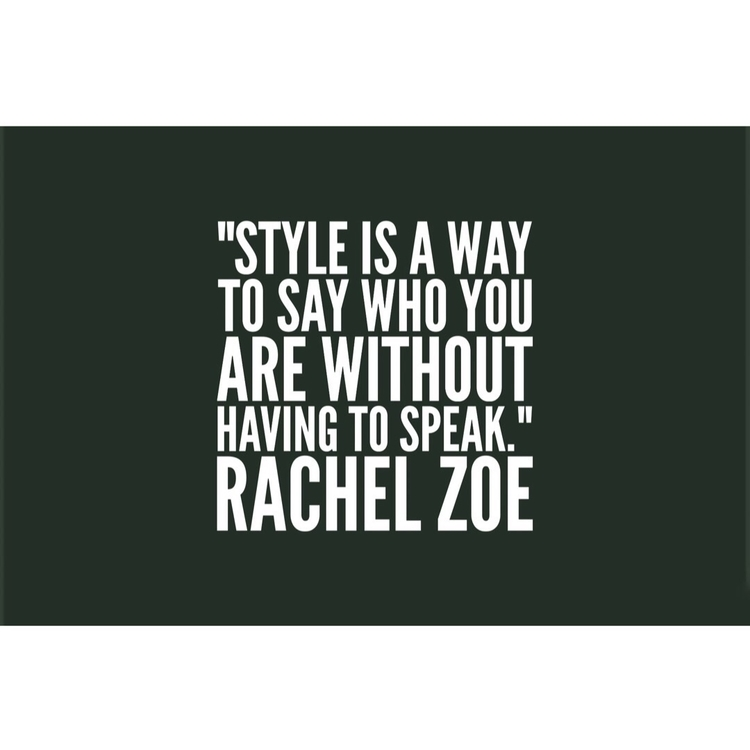 QUOTE THURSDAYS  - rachelzoe - cliftondavisclarke | ello