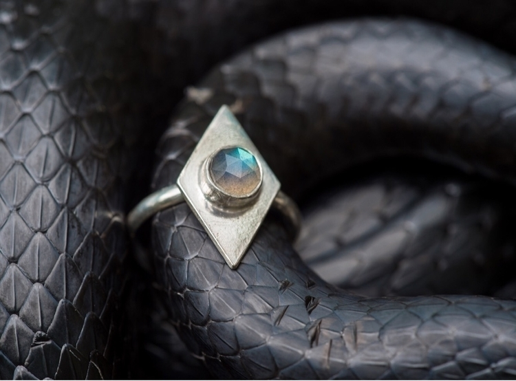 Diamond Ring Labradorite || Geo - carodesigns | ello