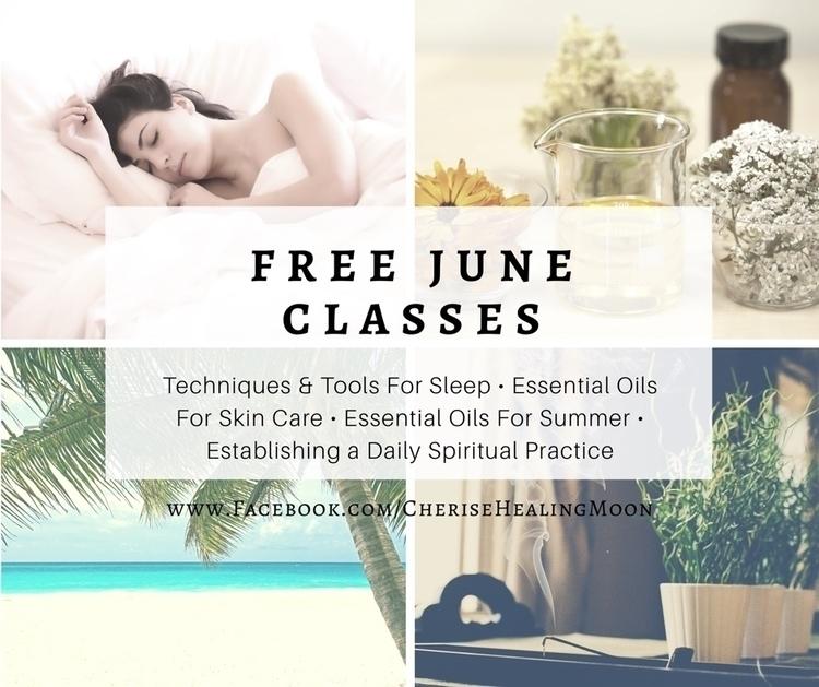 Free classes June Facebook busi - cherisehealingmoon | ello