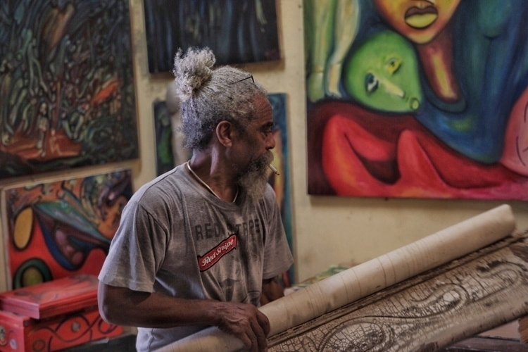 Cuban artists studio - Cuba - teferri   ello