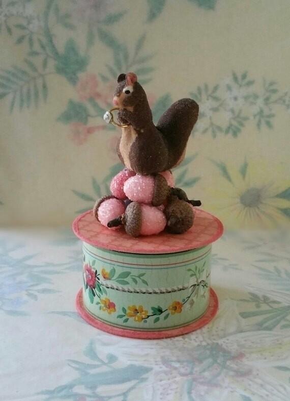 sweet, handmade gift box vintag - crashandcarry | ello
