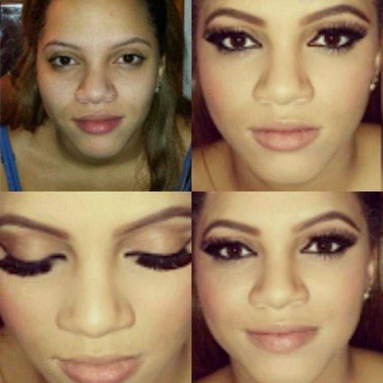 Prom makeup Client - makeupsuki - makeupsuki | ello