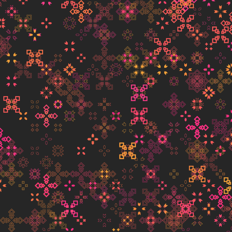 Geometric Shapes / 170603 - processing - sasj | ello