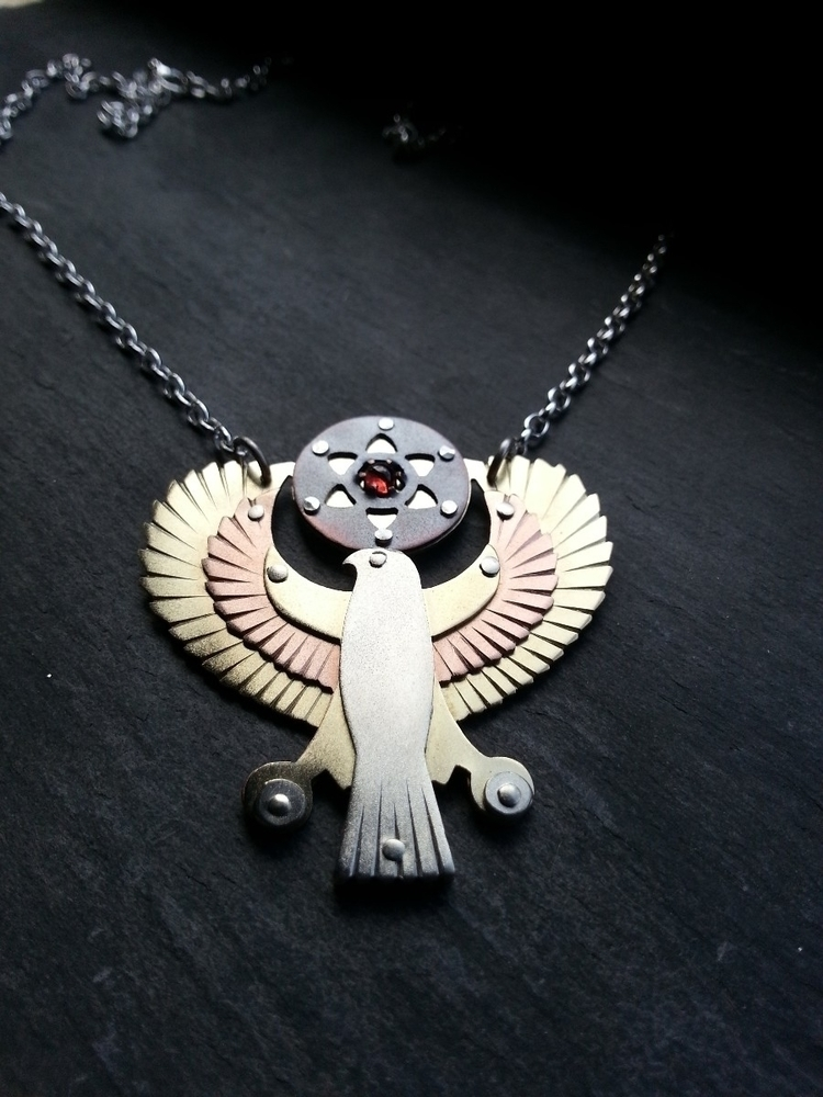 Horus Seed Life pendant heading - jeanburgersjewellery | ello