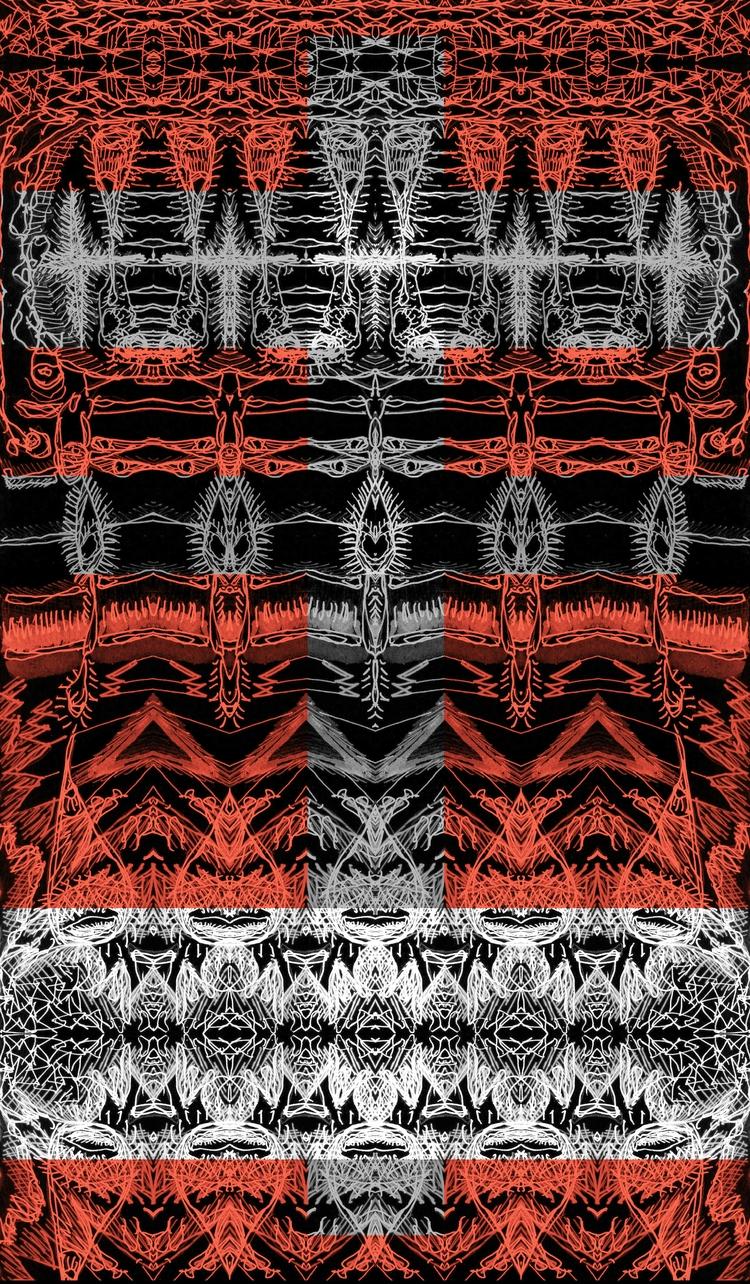 degree γ - version Hydrā - drawing - tsun-zaku | ello